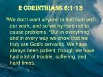 2 corinthians 6 1 131