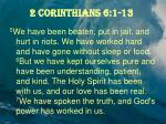 2 corinthians 6 1 132
