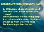 eternal father strong to save1