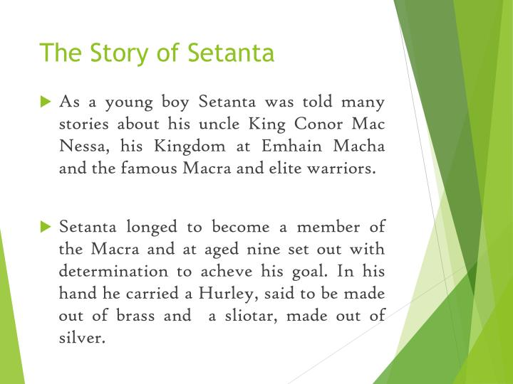 The Story of Setanta