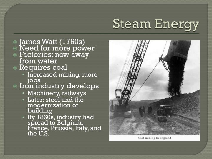 Steam Energy
