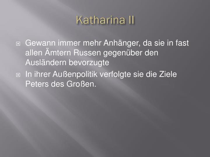 Katharina II