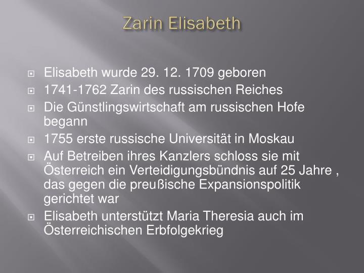 Zarin Elisabeth