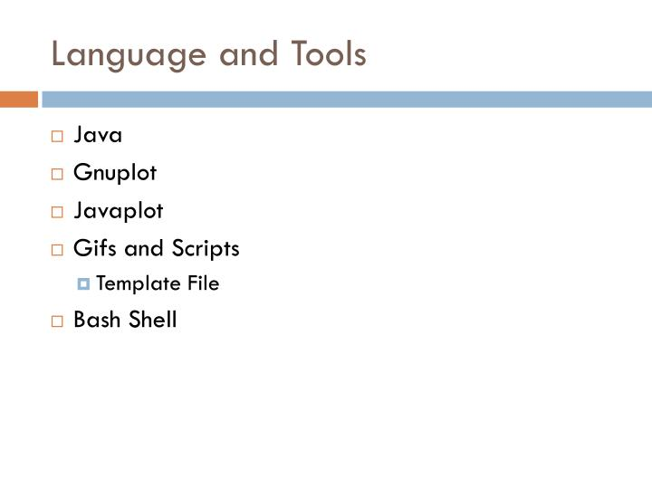 Language and Tools