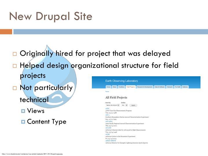 New Drupal Site