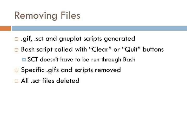 Removing Files