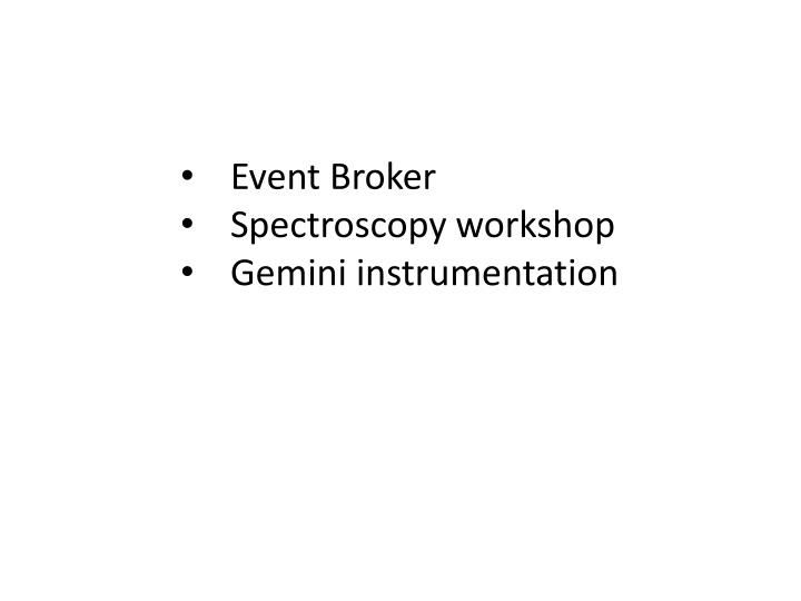 Event Broker