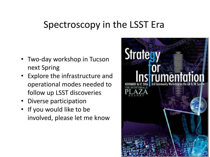 Spectroscopy in the LSST Era