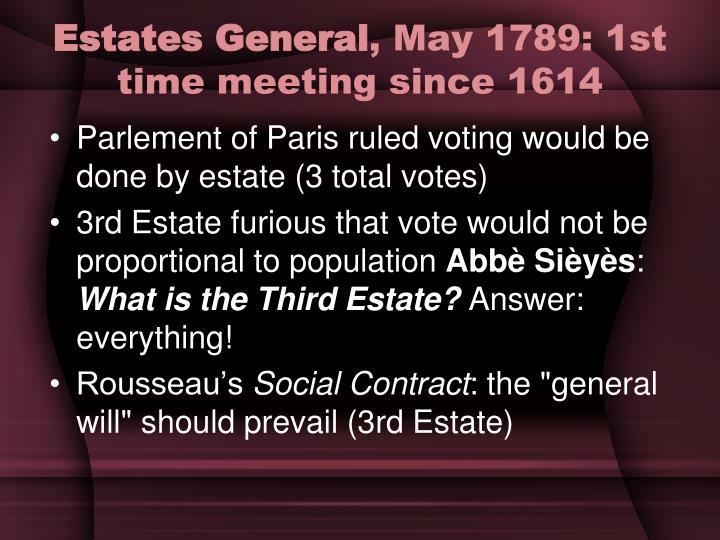 Estates General