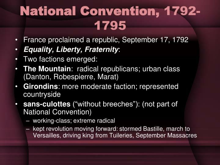 National Convention,
