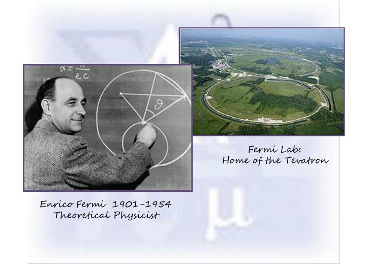 Fermi Lab: