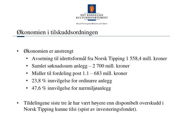 Økonomien i