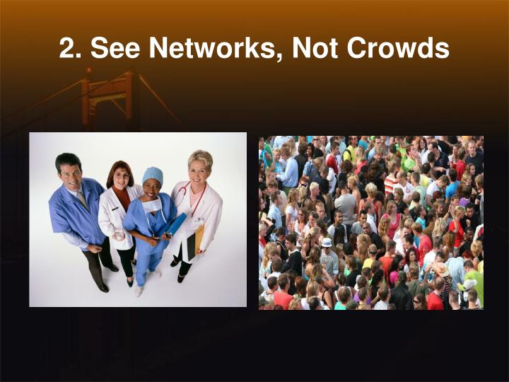 2. See Networks, Not Crowds