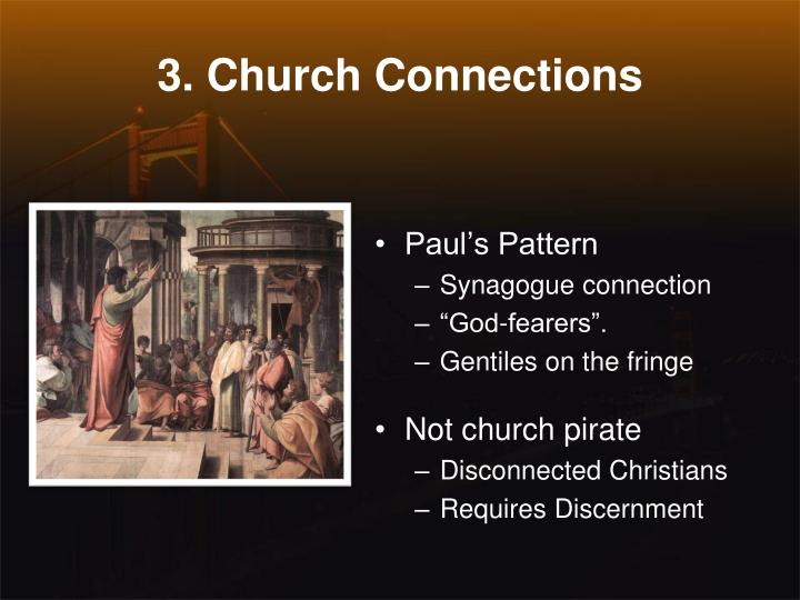 3. Church Connections