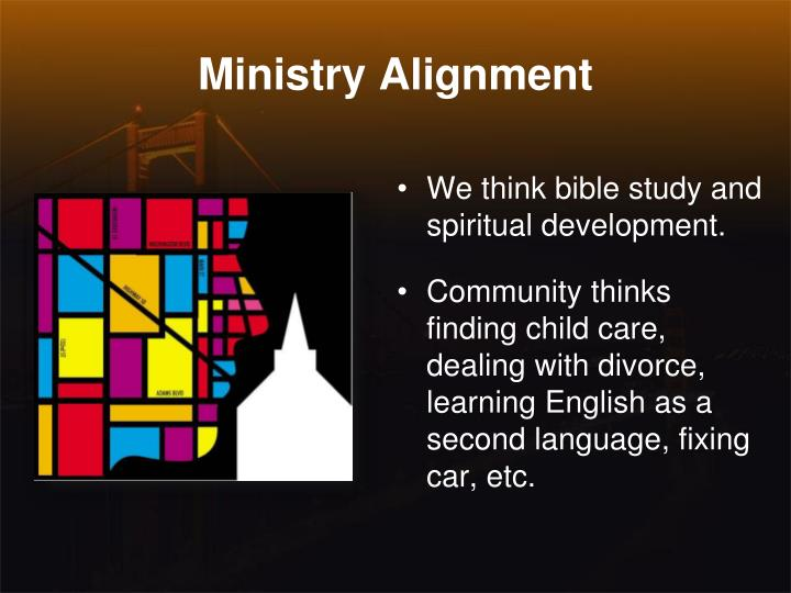 Ministry Alignment