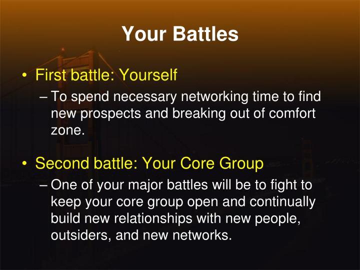 Your Battles