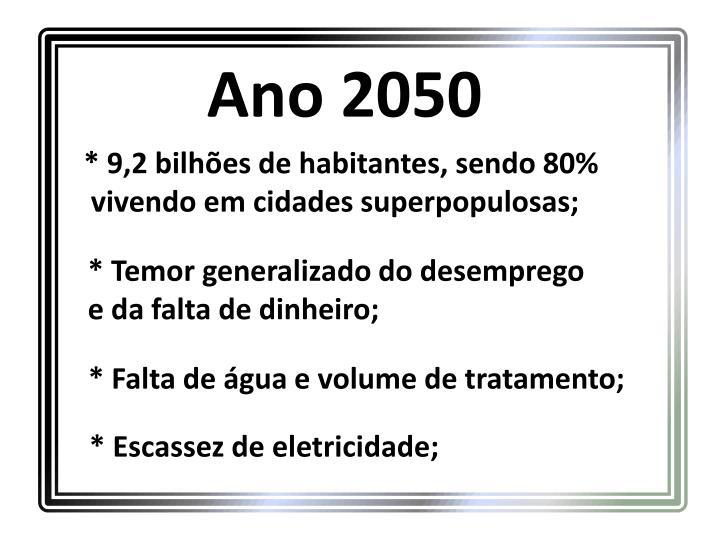 Ano 2050