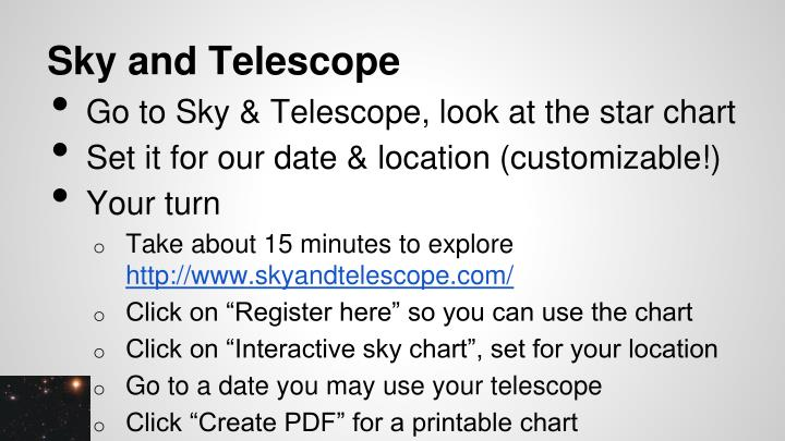 Sky and Telescope