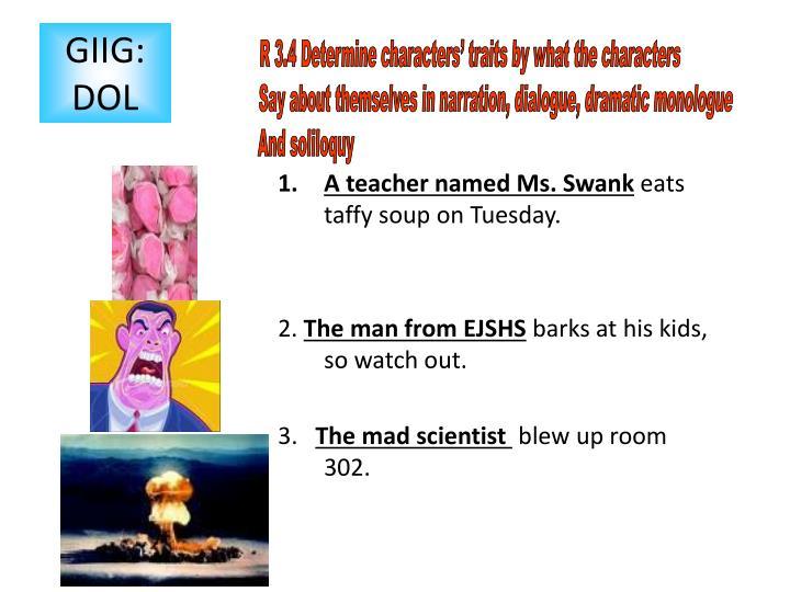 A teacher named