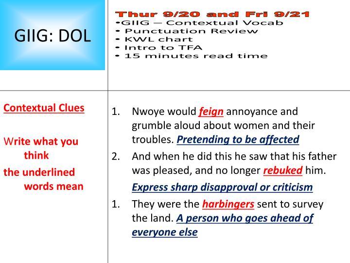 Contextual Clues