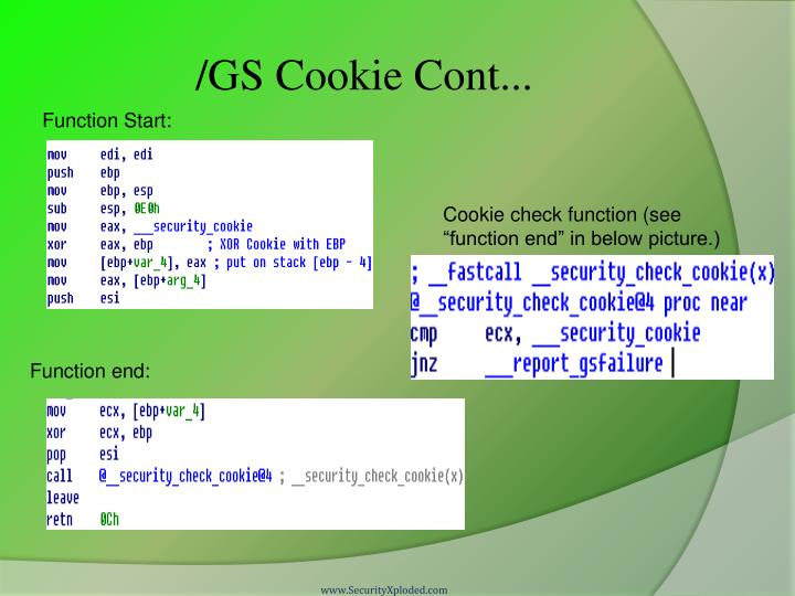 /GS Cookie Cont...