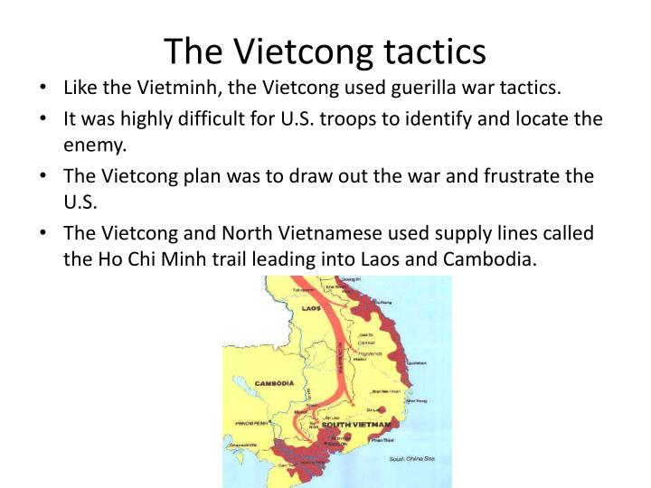 The Vietcong tactics