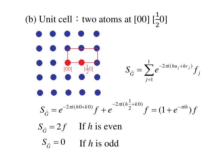 (b) Unit
