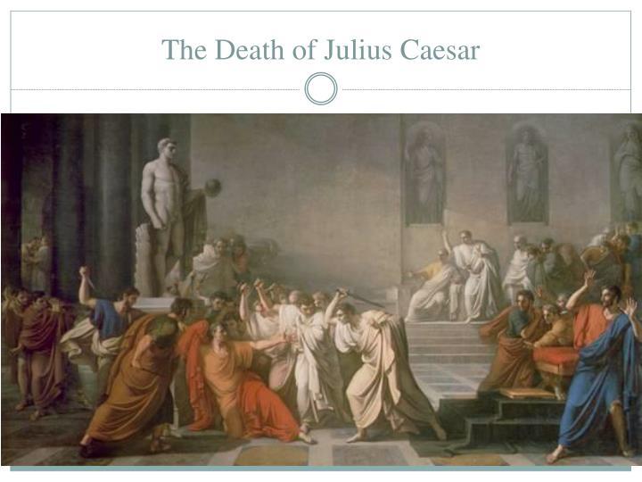 the assassination of julius caesar essay