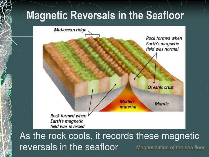 Magnetic Reversals in the Seafloor