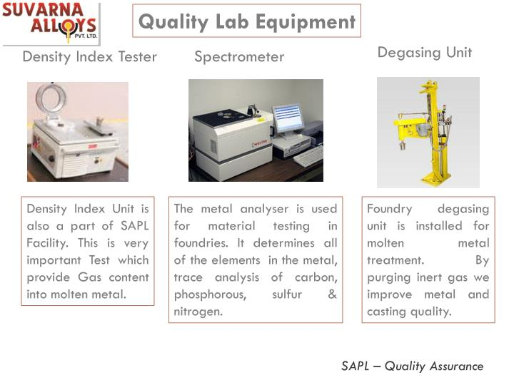 Quality Lab Equipment