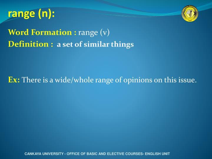 range (n):
