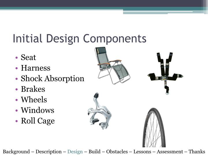 Initial Design Components