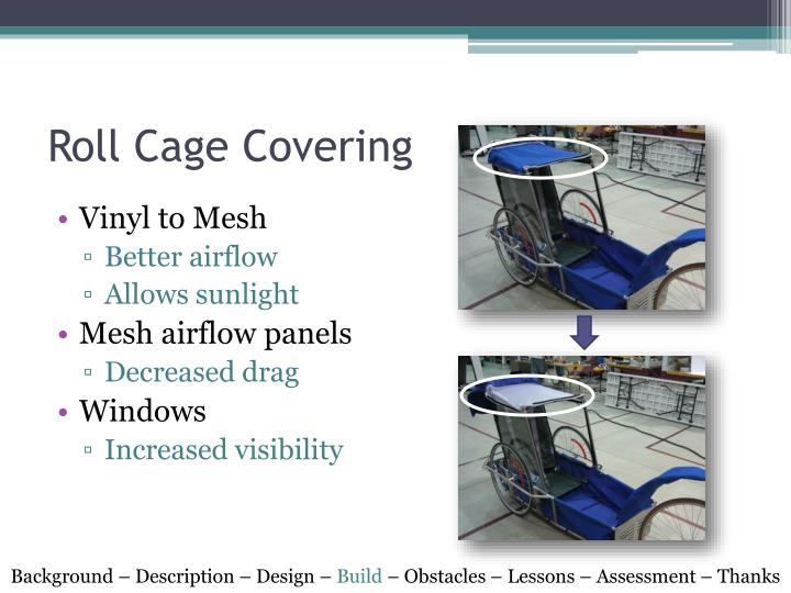 Roll Cage Covering