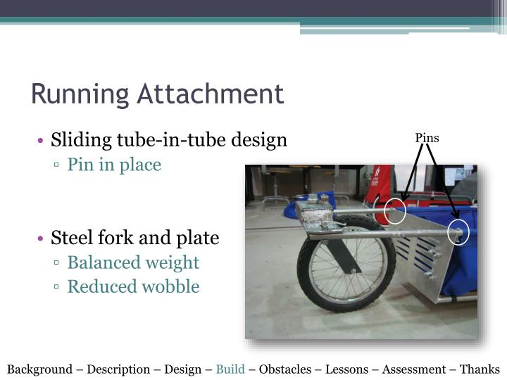 Running Attachment