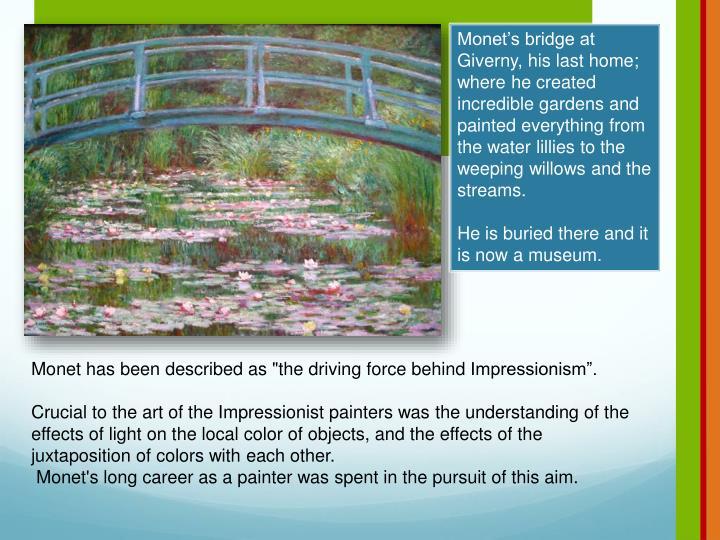 Monet's bridge at