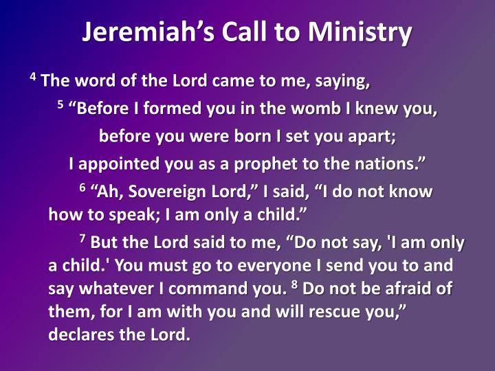 Jeremiah's