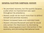 general election campaign hoover