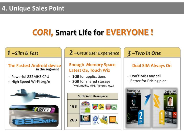 4. Unique Sales Point