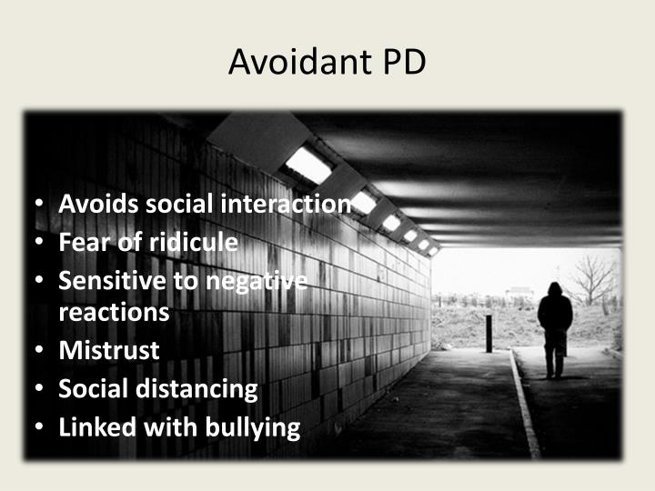 Avoidant PD