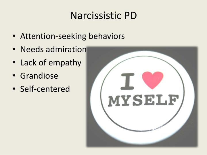 Narcissistic PD