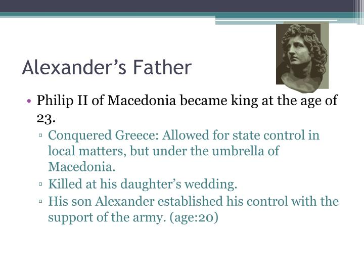 Alexander's Father