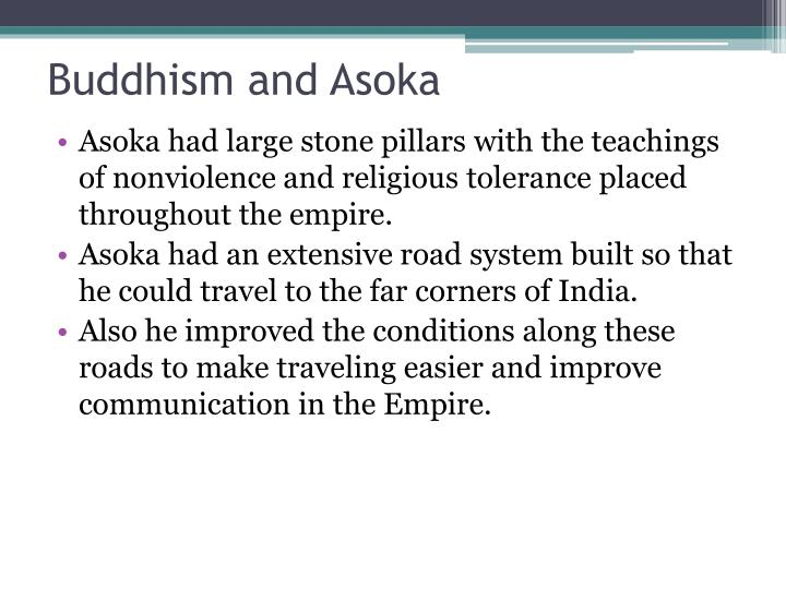 Buddhism and Asoka