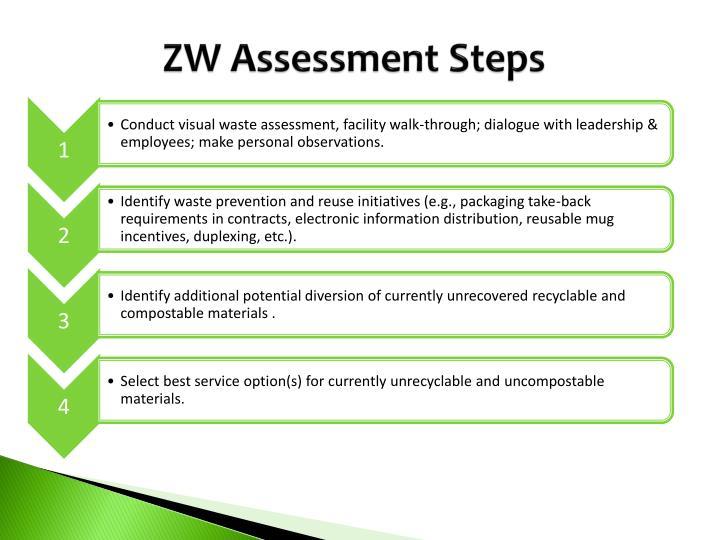 ZW Assessment Steps