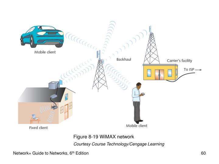 Figure 8-19 WiMAX network