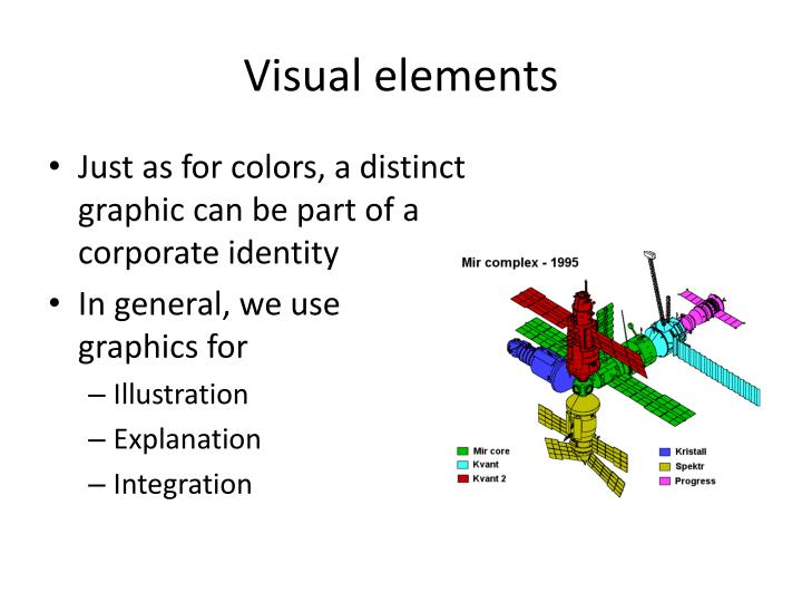 Visual elements1