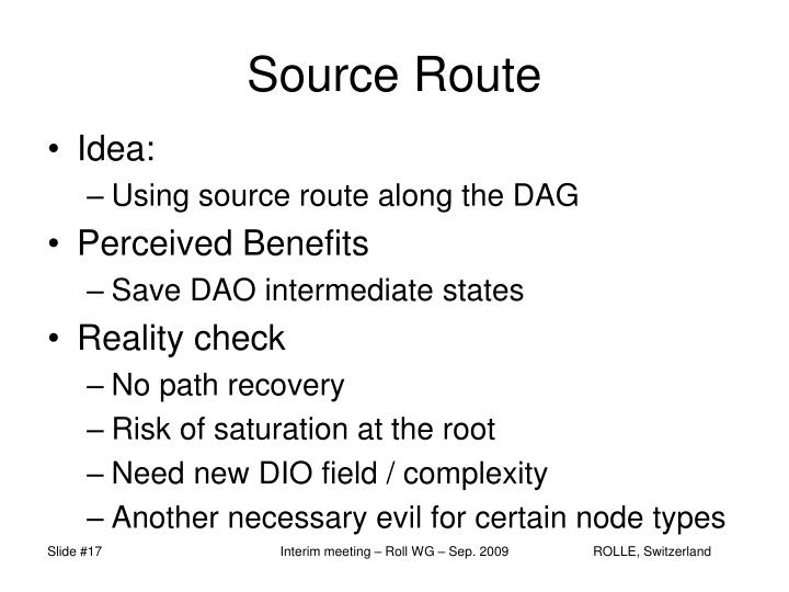 Source Route