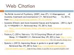 web citation