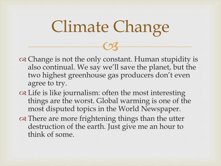 Climate change1