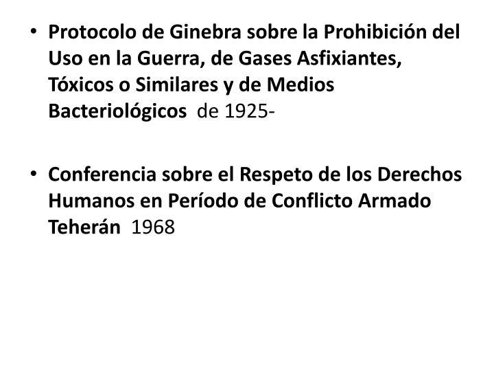 Protocolo de Ginebra sobre