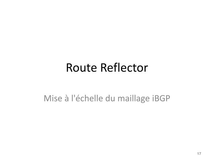 Route Reflector
